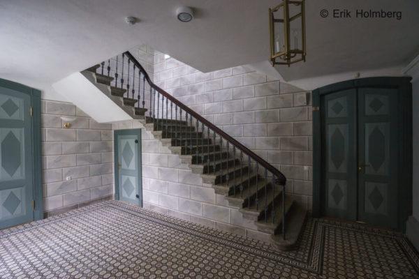 Aruküla mõisa restaureerimine trepp alt