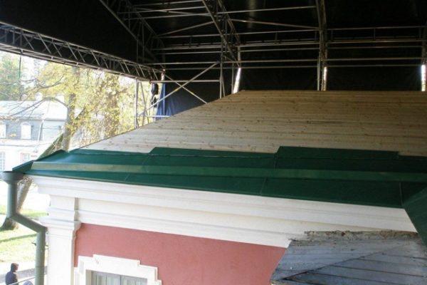 Kadrioru lossi katuse uuendamine toos