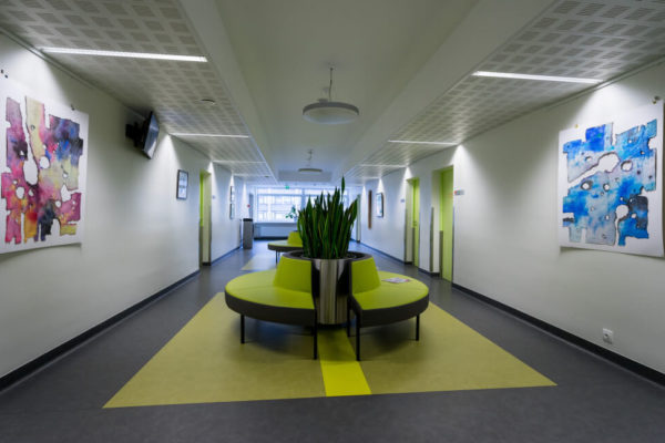 Lääne-Tallinna Keskhaigla Naistekliiniku rekonstrueerimine lai koridor