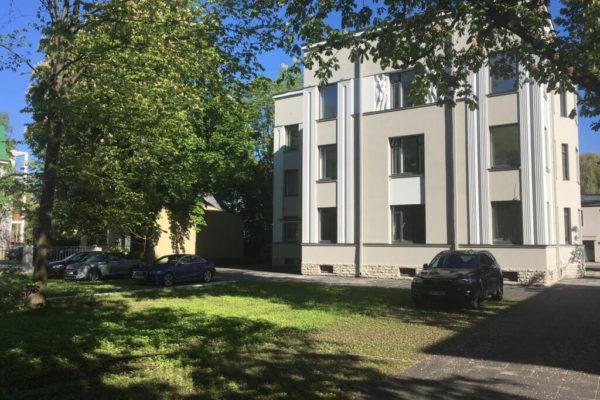 Narva mnt 57 korterelamu ümberehitustööd