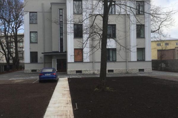 Narva mnt 57 korterelamu laiendustööd